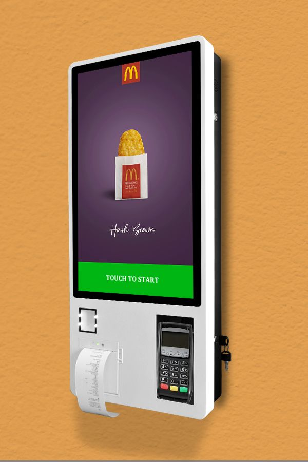 27 Inch Interactive Touch Screen Self Service Payment Kiosk For Mcdonald S Restaurant View Self Service Kiosk Restaurant Taiyun Product Details From Guangzhou Touch Screen Design Kiosk Design Digital Kiosk