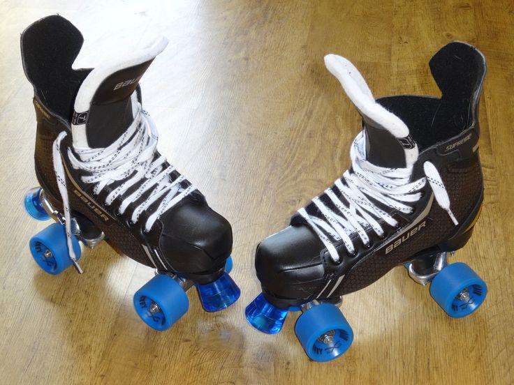 Roller Skate Sneakers >> Quad hockey skates | Sneakers nike, Roller skating, Air max sneakers