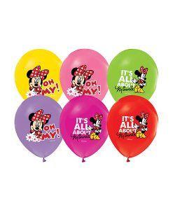Doğum günü parti süslemeleri için Minnie Mouse Temalı 10 Adet Latex Balon ürünümüzü online olarak uygun fiyatlar ile satın alabilirsiniz