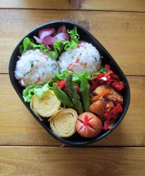 3.15【自企画】お弁当の詰め方・大人の小さなお弁当箱(2) : YUKA'sレシピ♪