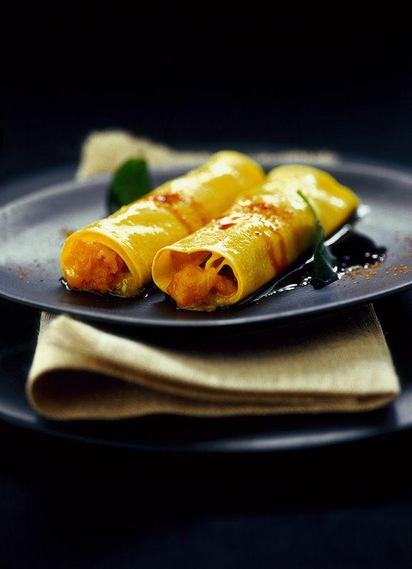 Cannelloni di pasta fresca con zucca - Donna Moderna