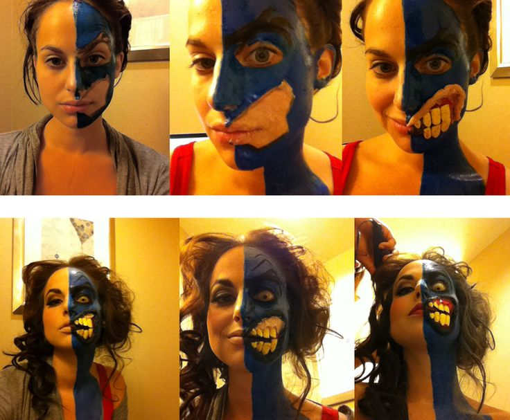 Two-Face make-up