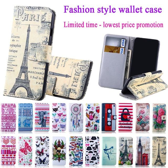 For iPhone 6 6S Cases High Quality Fashion cute cartoon PU Leather Case For Apple iPhone 6 6S Card Holder Wallet Phone Cover Bag