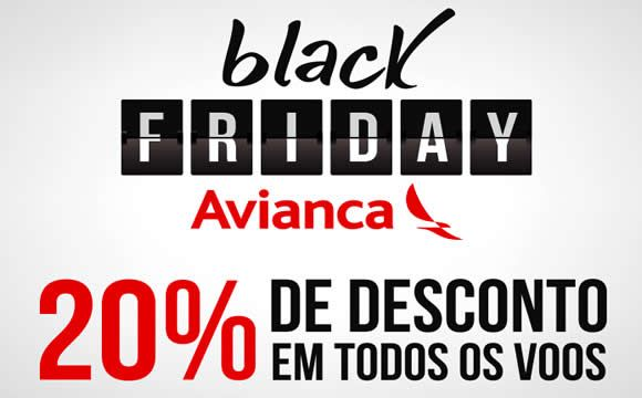 20% de desconto em todos os voos 2017 na AVIANCA - Black Friday #cybermonday #avianca #2017 #viagens #promoção #voos