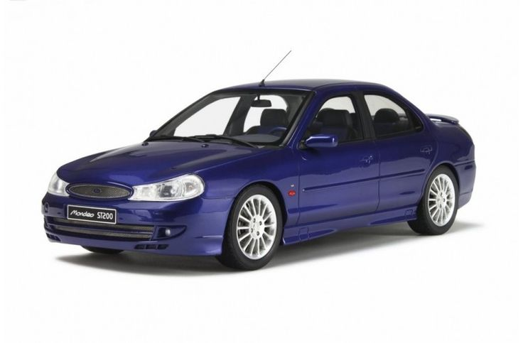 FORD MONDEO ST 200 - FORD RACING BLUE L9890 - 1999 - Car models - Die-cast | Hobbyland Scale model car made of resin in 1:18 scale manufactured by OTTOMOBILE.