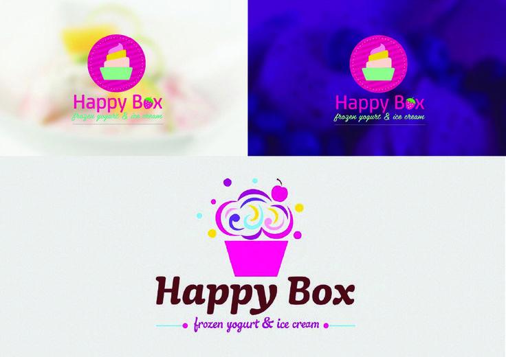 Happy Box Logo by Oscar_design