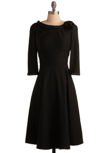 I'd feel like Audrey Hepburn in this dress... $170