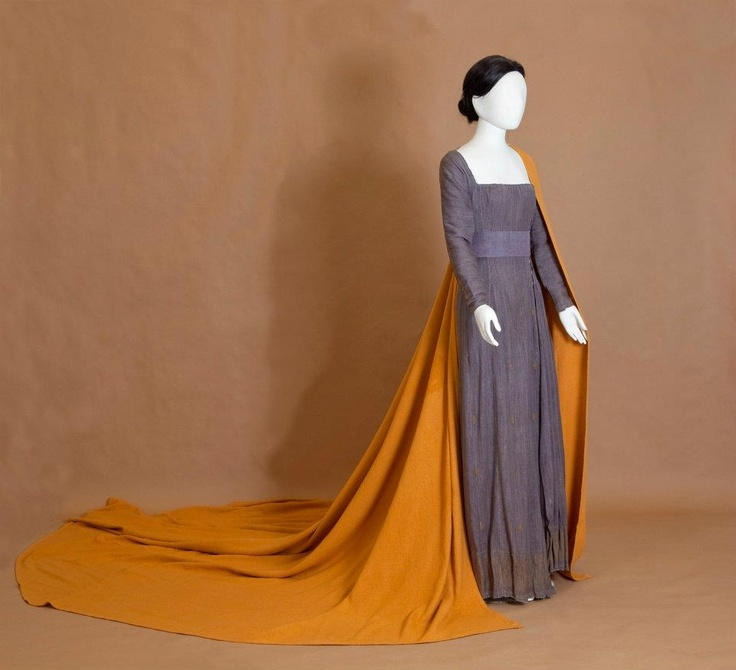 """Dress designed, woven and sewn for Maria Callas by the designer Yannis Tsarouhis, worn at the """"Medea"""" performance in Dallas, Texas. 1958"""