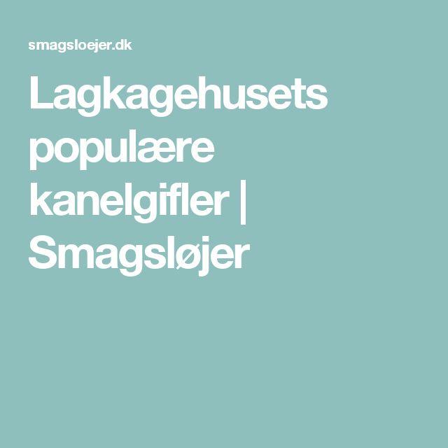 Lagkagehusets populære kanelgifler | Smagsløjer