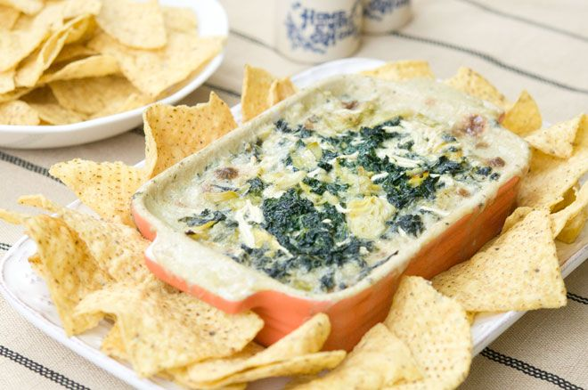 ~~~kale and artichoke dip