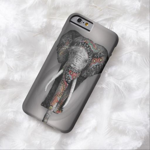 iPhone 6 Cases | Cute Retro Flower Elephant iPhone 6 Case