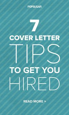 Catch a Recruiter's Eye With These 7 Cover Letter Tips