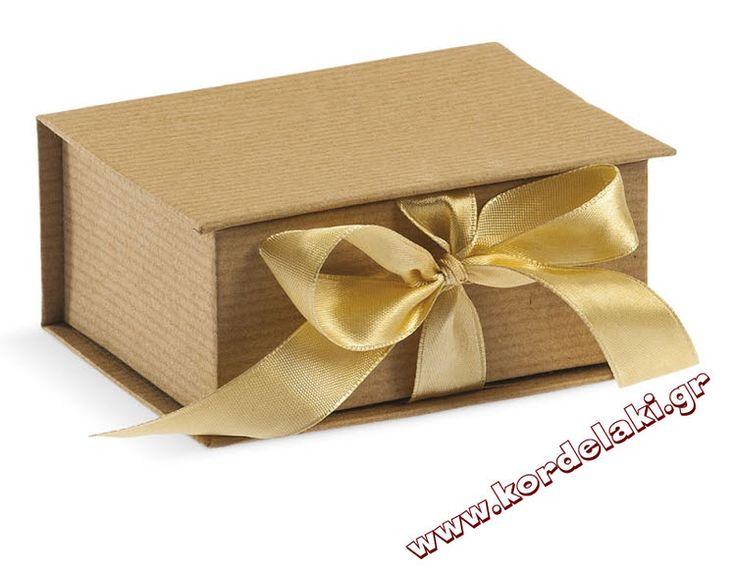 Κουτί οικολογικό με κορδέλα για μπομπονιέρα γάμου και βάπτισης, στολισμούς, κατασκευές, διακοσμήσεις ή οτιδήποτε έχετε φανταστεί.