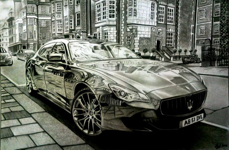 Maserati Quattroporte in London