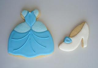 SugarBliss Cookies - Princess Cinderella cookies