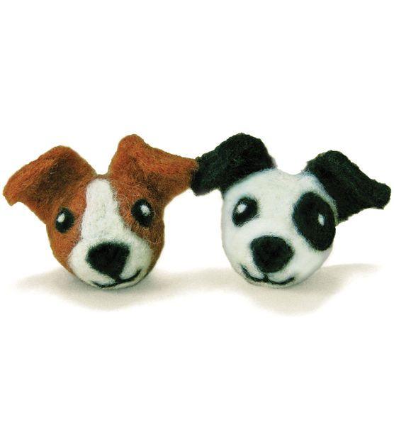 Feltworks Ball Dogs Learn Needle Felting Kit- & Felt Applique at Joann.com