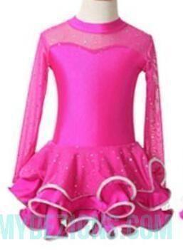 Latin Dance Dress For Girls Samba Dress Ballroom Dancing Dress Girl Dancewear Kids Kid Stage Ballet Vestido Baile Latino Girls