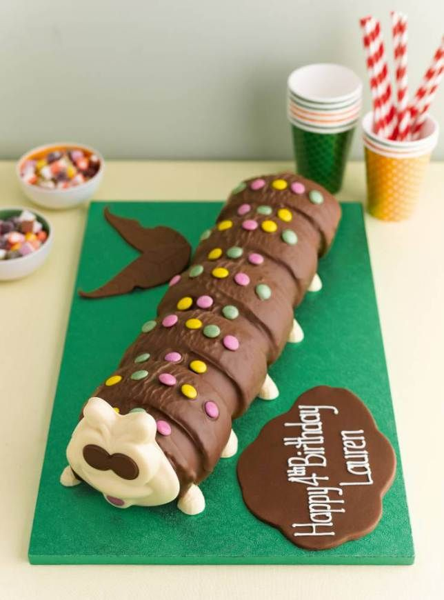 Colin the Caterpillar cake