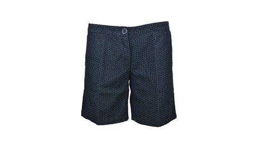 NIOI shorts broderie anglais black