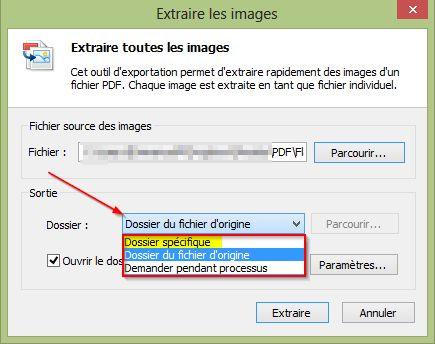 Extraire toutes les images d'un fichier PDF en deux clics