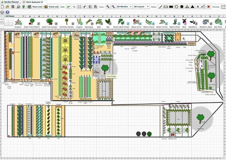 Planning Your Vegetable Garden With A Garden Planning Tool Software Gardenplanneryar Vegetable Garden Planning Vegetable Garden Design Garden Layout Vegetable