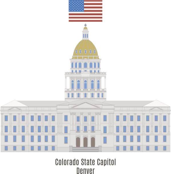 Colorado State Capitol Denver Colorado Vereinigte Staaten Von Amerika United States Of America Us Vereinigte Staaten Von Amerika Colorado Nordamerika