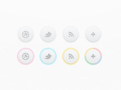 Web design - Buttons - Dribbble