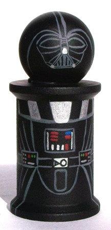 Handpainted Darth Vader Wooden Doll