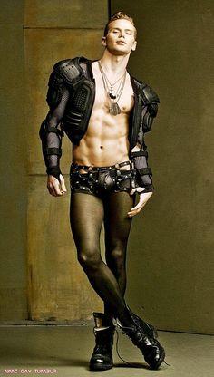 Avant-Garde Men's Fashion