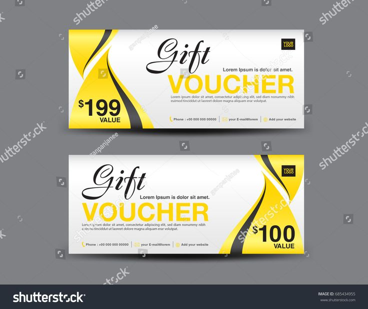 61 best Gift vouchuer images on Pinterest Banner, Banners and Coupon - business voucher template