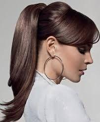 Resultado de imagem para penteados para cabelo liso