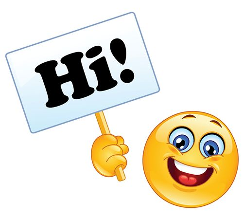 Smiley Saying Hi                                                                                                                                                     More