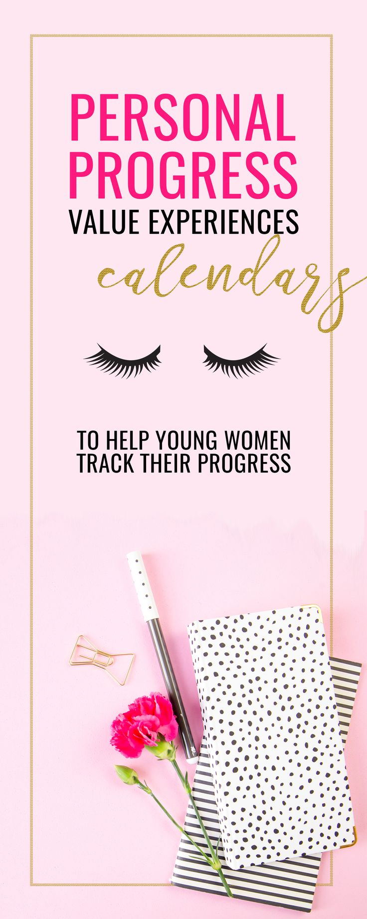 There's a lot of projects that go into the Personal Progress Program- give a cute and practical gift to the young women in your life that will help them learn to plan as they grow spiritually! Wonderful Young Women's Activity, or Sunday Activity.