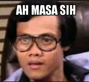 DPBBMKU.COM – Gambar meme komik/ comic lucu dan terbaru 2016. Ulasan yang kami sajikan pada hari ini adalah foto atau karikatur dengan nuansa plesetan atau biasa kita kenal dengan sebutan meme komik, dimana gambar ini sangat populer di kalangan pengguna sosial media dan aplikasi chat messenger. Banyak sekali sekarang beredar koleksi gambar meme Indonesia