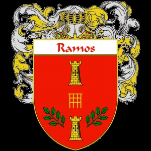 Ramos Coat of Arms   http://spanishcoatofarms.com/ has a wide variety of products with your Hispanic surname with your coat of arms/family crest, flags and national symbols from Mexico, Peurto Rico, Cuba and many more available upon request.