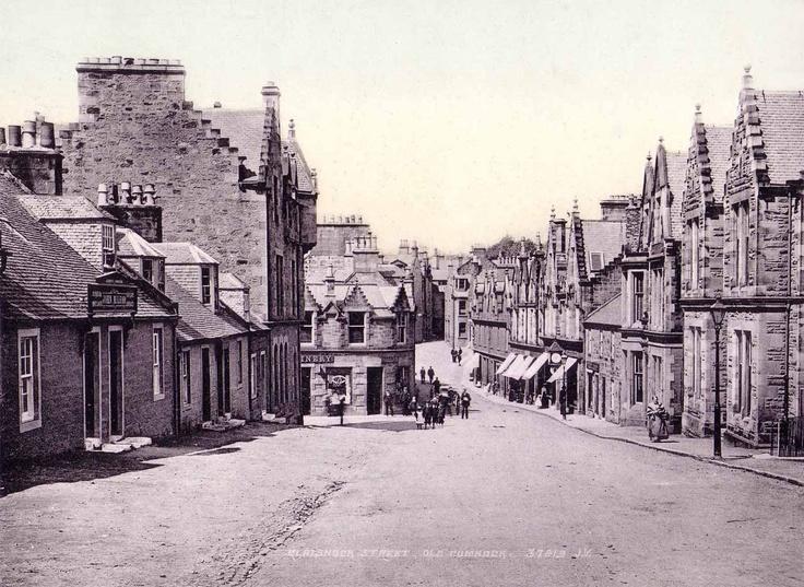 Ayrshire, Cumnock, Glaisnock Street.