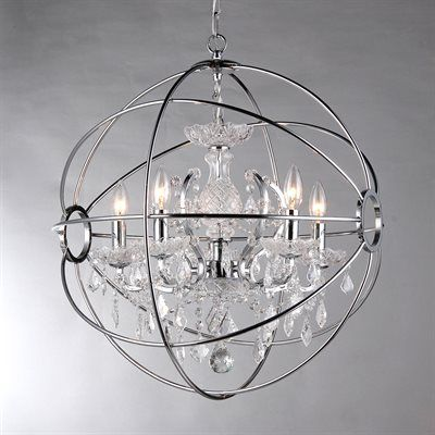 I LOVE THIS FOR OVER YOUR TUB!! Warehouse of Tiffany RL6806B-16 Saturn's Ring-16 5 Light Chandelier