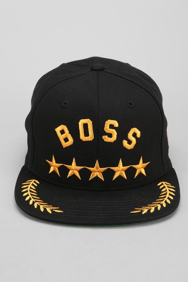 Undefeated Boss Snapback Hat #urbanoutfitters