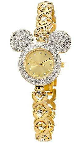 Pavé Crystal Bezel Mickey Mouse Watch for Women. Opening soon @Disney Store Scarborough Town Centre #watch