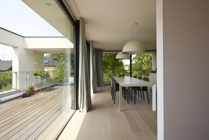 Realisatie nieuwbouw woning met super isolerend ALU schrijnwerk - Winsol