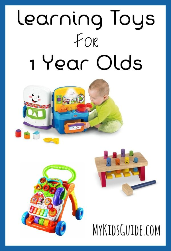 Trying to decide what to get for your baby's 1st Christmas? We LOVE these fun and educational learning toys for 1 year old toddlers!