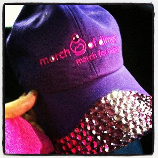 Best 25 march of dimes ideas on pinterest warwick hotel march of dimes i want this blinged out hat voltagebd Choice Image