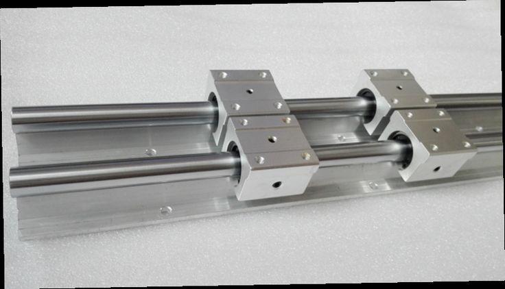 54.00$  Buy now - http://alim3w.worldwells.pw/go.php?t=32757752388 - 12mm linear rail 2pcs SBR12 600mm supporter rails + 4pcs SBR12UU blocks for CNC linear shaft support rails and bearing blocks
