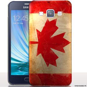 Coque pour Portable A3 drapeau Canada - Samsung | Housse rigide. #Housse #Coque #Canada #A3 #SM-A300 #Drapeau #case #cover #flag