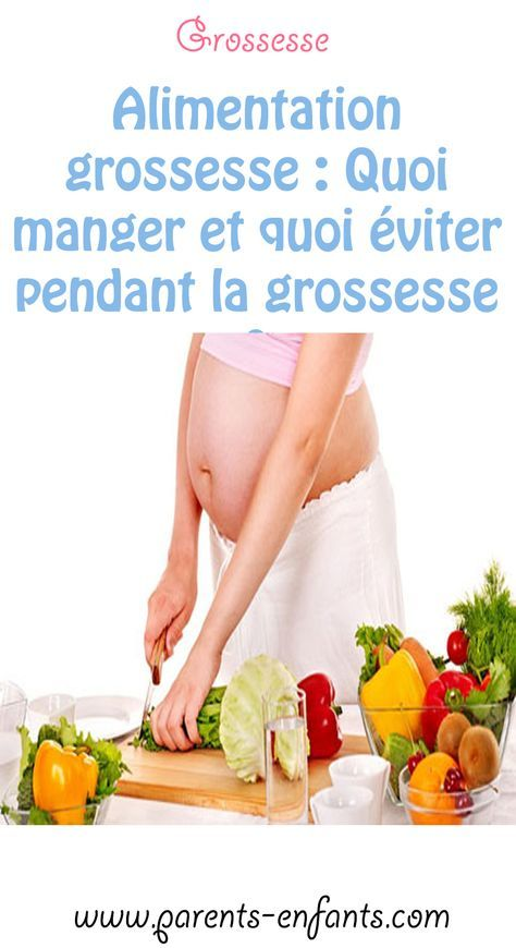 regime alimentaire femme enceinte