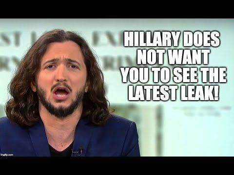 14 Oct '16:  Hillary Does NOT Want You To See This Latest Leak! - YouTube - Redacted Tonight - 9:23