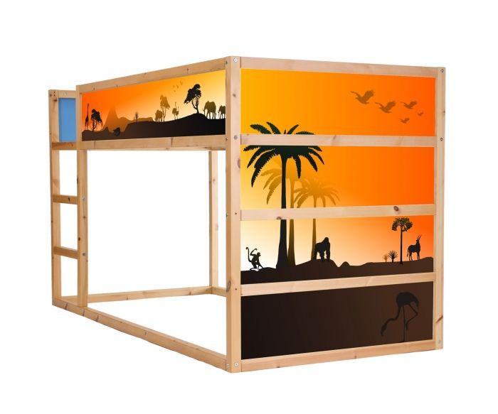 37 best ikea kura hochbett images on pinterest ikea kura sticker and child room. Black Bedroom Furniture Sets. Home Design Ideas