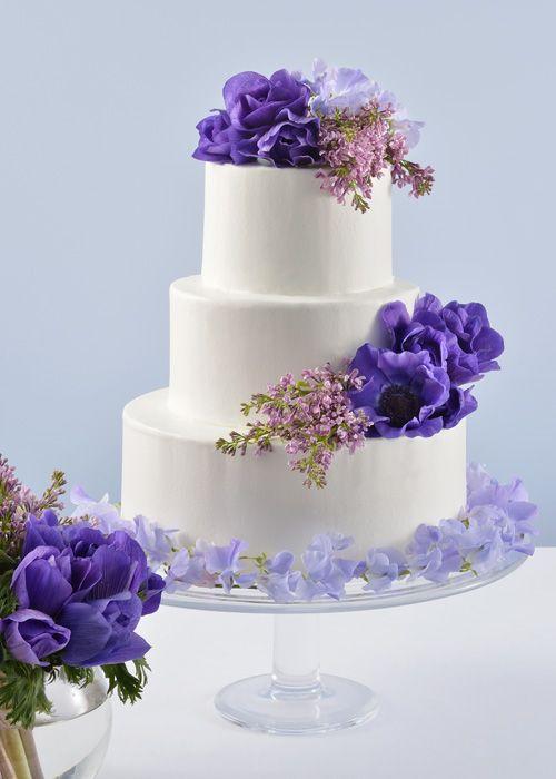#NOVARESE #weddingcake #flower #purple  #blue #pink #ノバレーゼ #ウエディングケーキ #フラワー #パープル #ブルー #ピンク