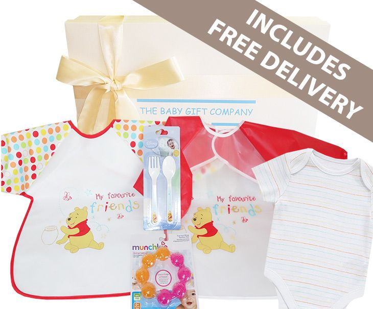 Winnie the Pooh Baby Gift Box with free delivery