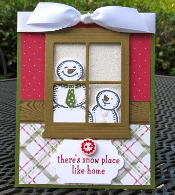 Krystal's Cards: Stampin' Up! Snow Place - Hearth & Home